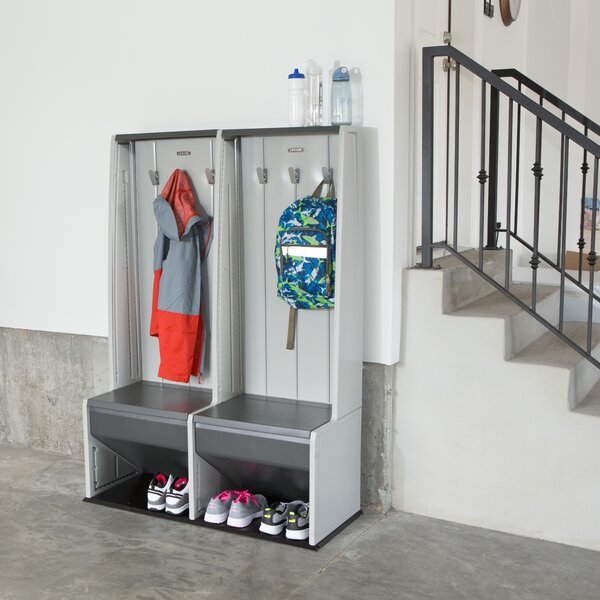 Home Storage 1 Tier 2 Wide Home Locker by Lifetime