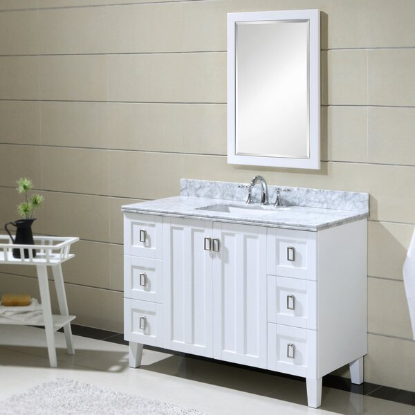 Larabee 48 Single Sink Bathroom Vanity Set by Latitude Run