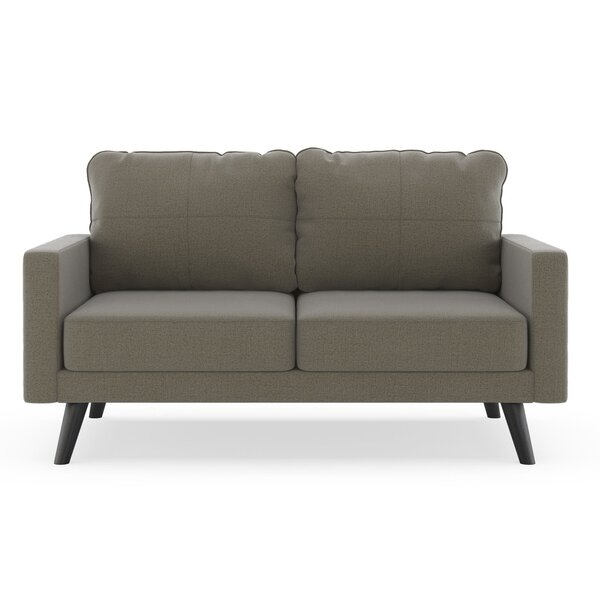 Cowhill Oxford Weave Loveseat By Corrigan Studio