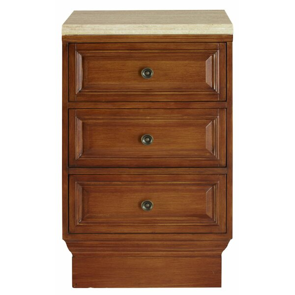 3 Drawer Accent Chest by Silkroad Exclusive