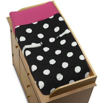 Hot Dot Changing Pad Cover by Sweet Jojo Designs