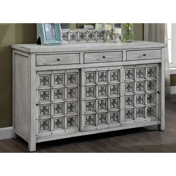 Balfour Falls 3 Drawer Combo Dresser by Bungalow Rose