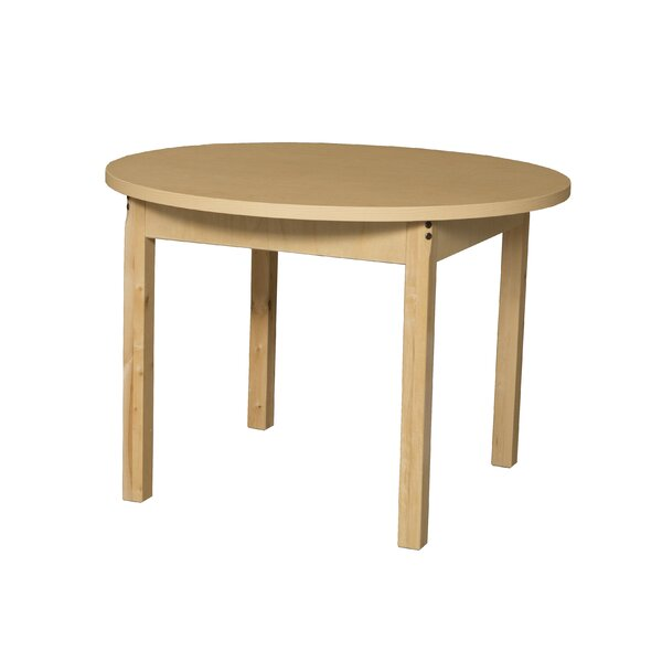 Round High Pressure Laminate Table by Wood Designs