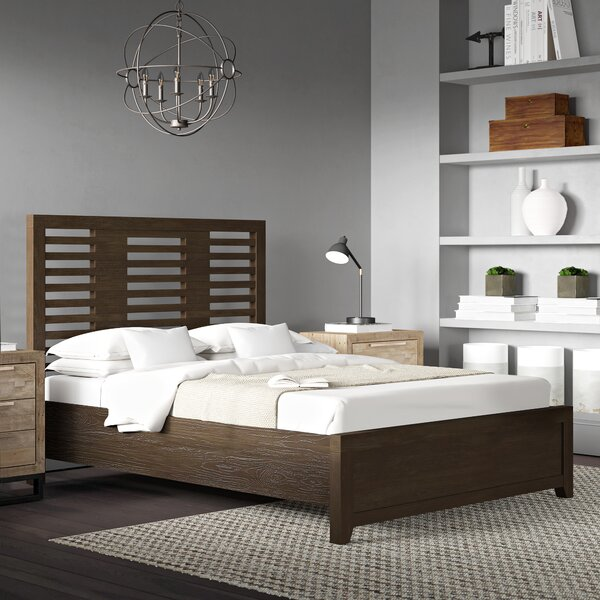Vickrey Wood Platform Bed by Brayden Studio