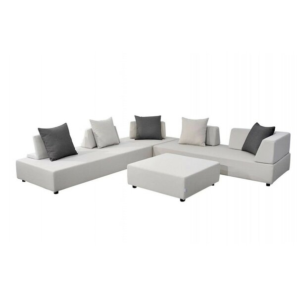 Takia 9 Piece Sectional Seating Group with Cushions by Latitude Run