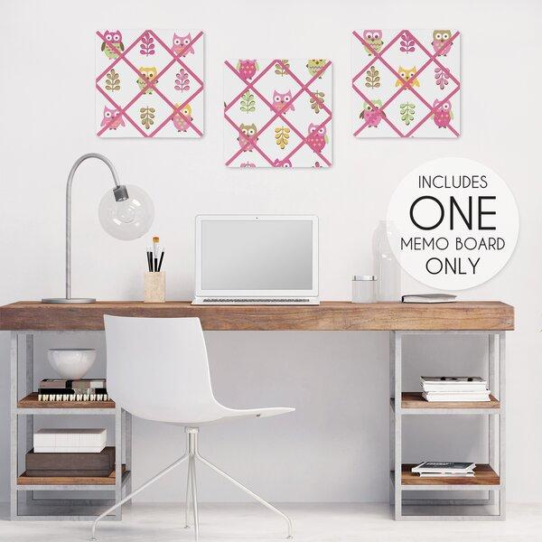 Happy Owl Photo Memo Board by Sweet Jojo Designs