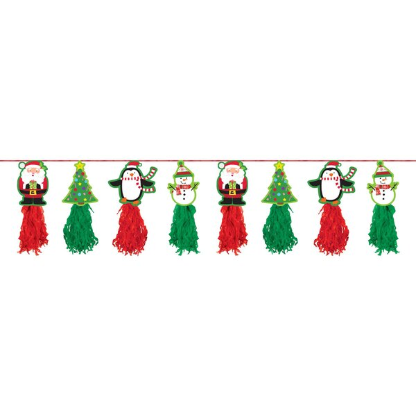 Christmas Tassel Garland by Amscan