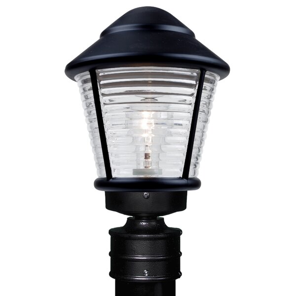 Donnie 1-Light Ribbed Face Lantern Head by Latitude Run