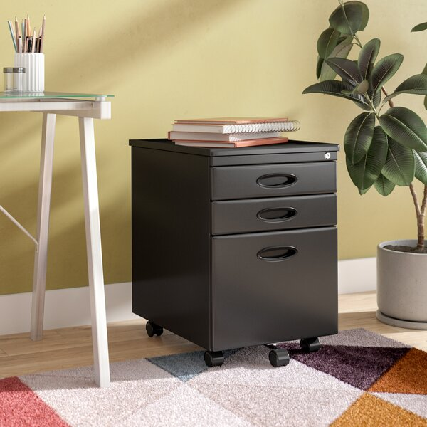 Feltonville 3 Drawer Filing Cabinet by Wrought Studio