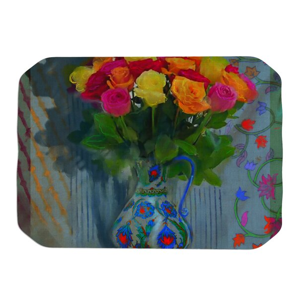 Spring Bouquet Placemat by KESS InHouse