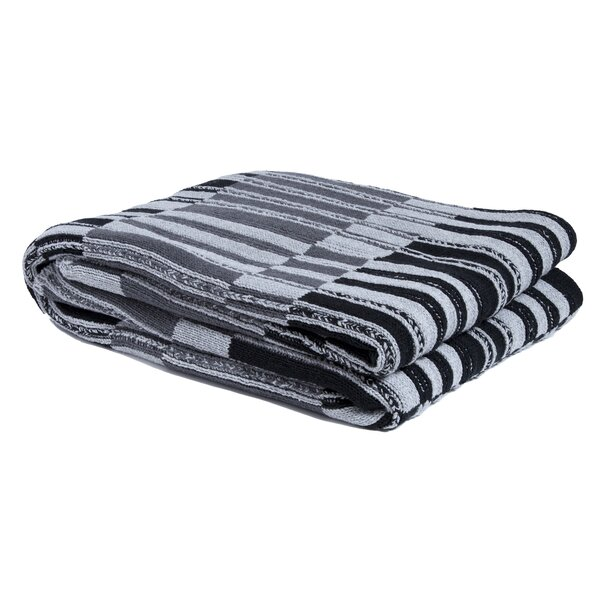 Acquah Floating Stripe Throw by Highland Dunes