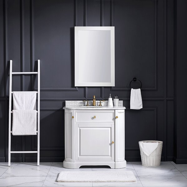 Diana 36 Single Bathroom Vanity Set by Ove Decors