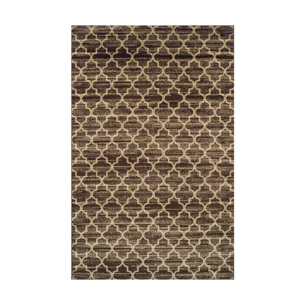 Trellis Brown/Beige Area Rug by Simple Luxury