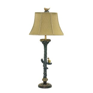 Table lamps with birds wayfair bird on branch 34 table lamp mozeypictures Images