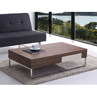 Bargain Abel Coffee Table with Storage ByWade Logan