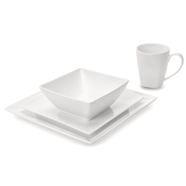Cardenas Pure Square 32 Piece Dinnerware Set, Service for 8 by Orren Ellis