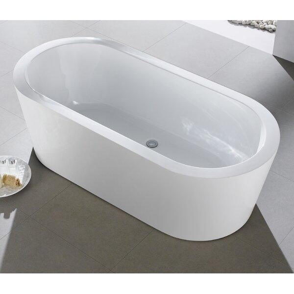 Ramo 58 x 29 Freestanding Bathtub by Eviva