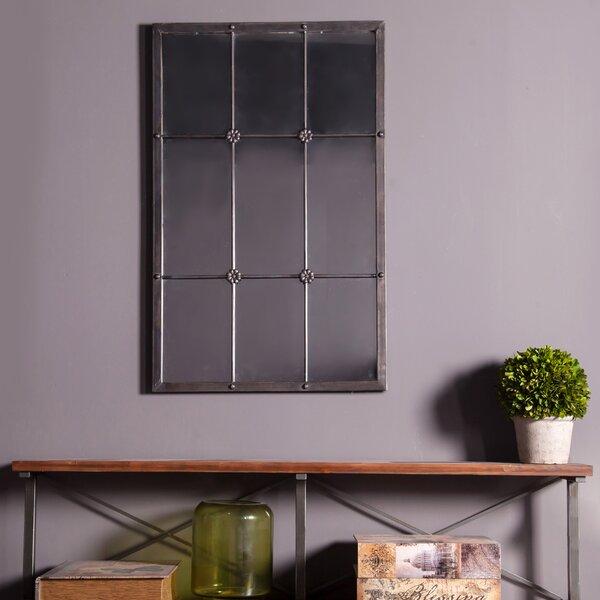 Rustic Window Frame Mirror Wayfair