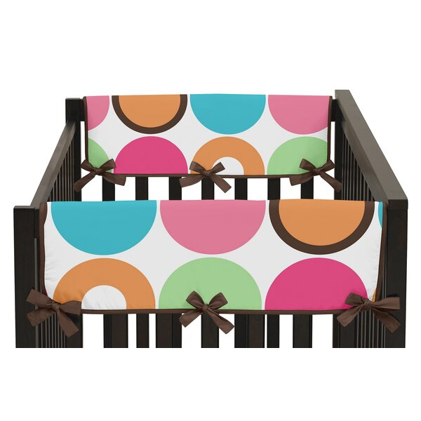 Deco Dot Side Crib Rail Guard Cover (Set of 2) by Sweet Jojo Designs