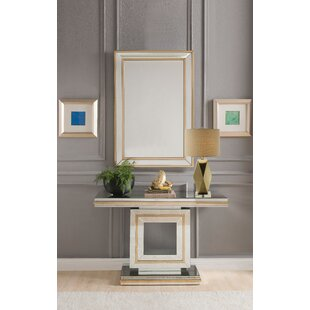 Compare prices Gallion Console Table ByEverly Quinn