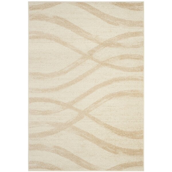 Marlee Cream/Champagne Area Rug by Willa Arlo Interiors