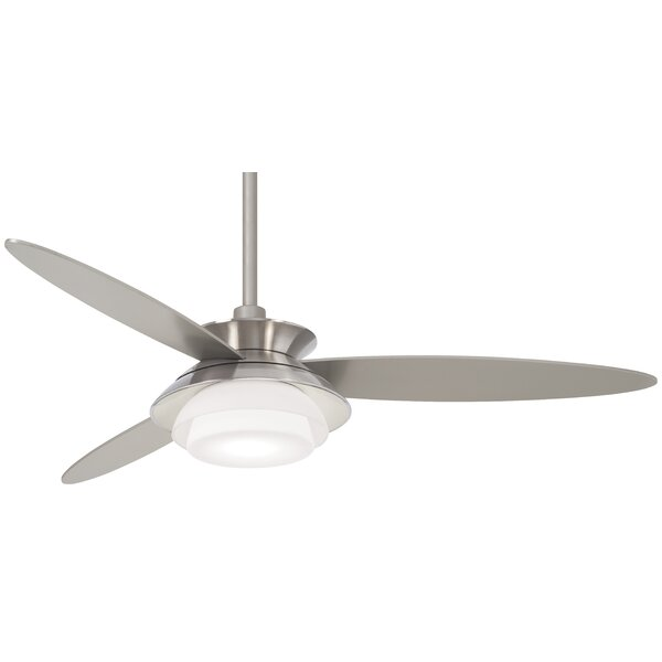 56 Stack 3 Blade LED Ceiling Fan with Remote by Minka Aire