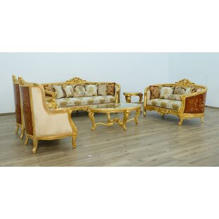 Luxor Configurable Living Room Set by Rosdorf Park