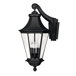 Affordable Senator 3-Light Outdoor Wall Lantern By Hinkley Lighting