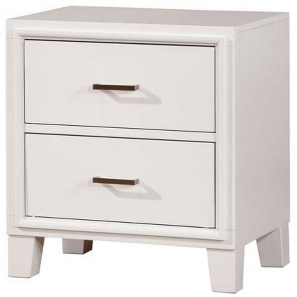 Rohde 2 Drawer Nightstand By Red Barrel Studio