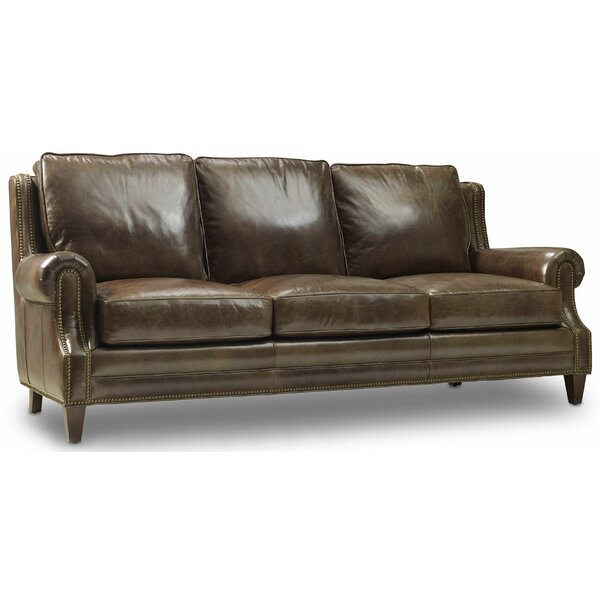 Houck Leather Sofa by Bradington-Young