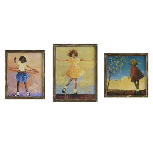 Summer Dress Painting Print (Set of 3) by Red Barrel Studio