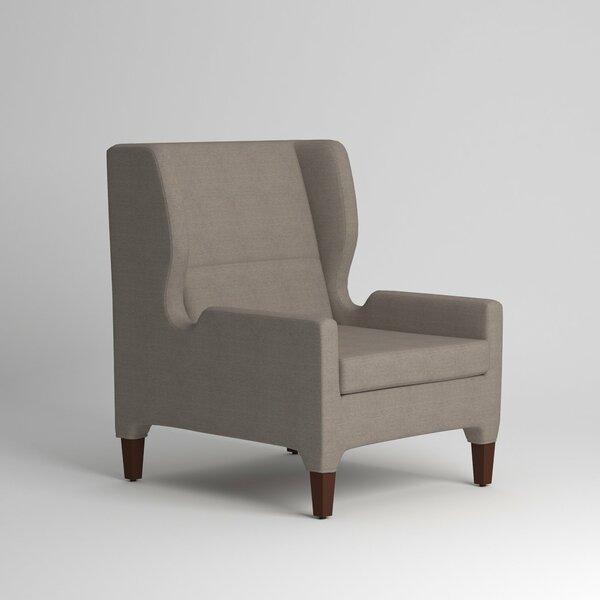 Renzo Wingback Chair by Wayfair Custom Upholstery��