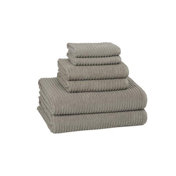 Clarkesville 6 Piece Turkish Cotton Towel Set by Eider & Ivory