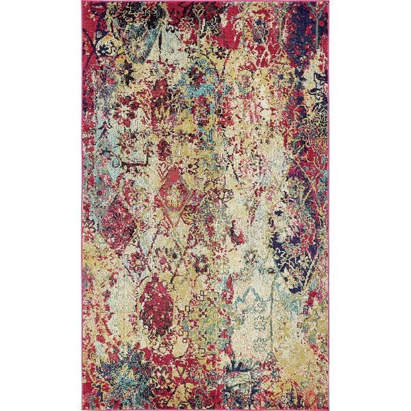 Piland Beige Area Rug by Bungalow Rose