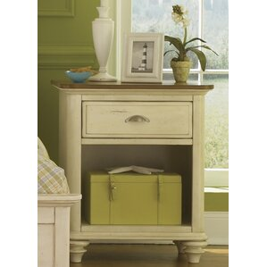 Bridgeview 1 Drawer Nightstand by Beachcrest Home
