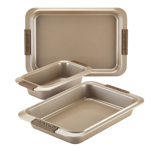 Advanced 3 Piece Non-Stick Bakeware Set by Anolon