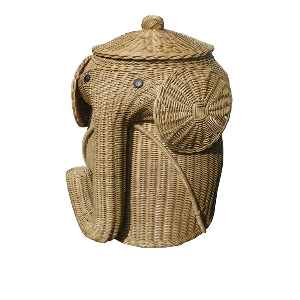 Elephant Laundry Hamper by D-Art Collection