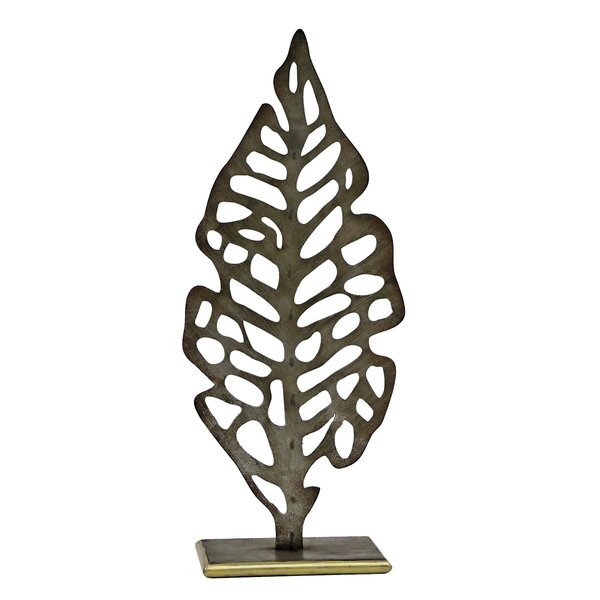 Aspen Leaf Sculpture by Foreside Home & Garden