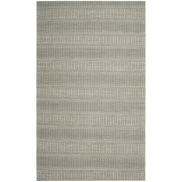 Alexandria Hand-Woven Camel/Gray Area Rug by Langley Street