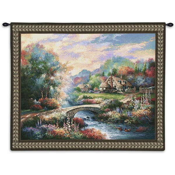Country Bridge Tapestry by Alcott Hill