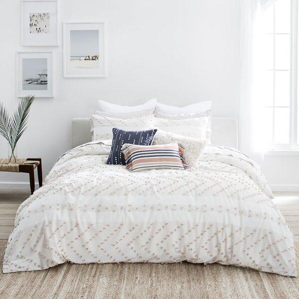 Monterey Taupe Chevron 100% Cotton 2 Piece Comforter Set