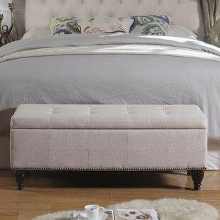 Darrah Upholstered Storage Bench