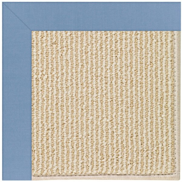 Lisle Machine Tufted Blue/Beige Indoor/Outdoor Area Rug by Longshore Tides
