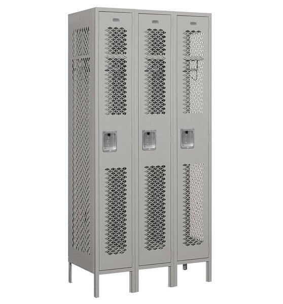 1 Tier 3 Wide Gym Locker by Salsbury Industries