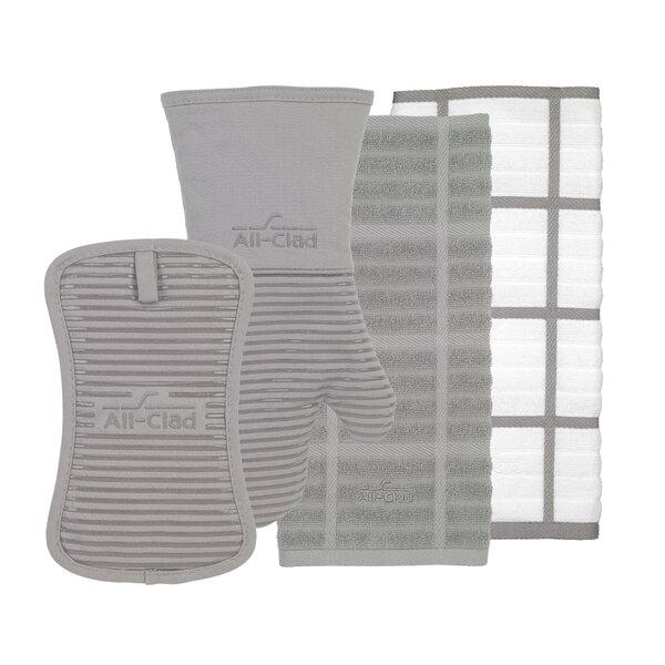 4- Piece Kitchen Textile Set by All-Clad