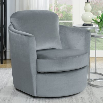Rosdorf Park Swivel Barrel Chair Accent Chairs