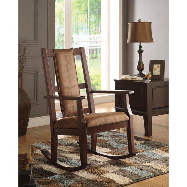 McDermott Rocking Chair by Ebern Designs