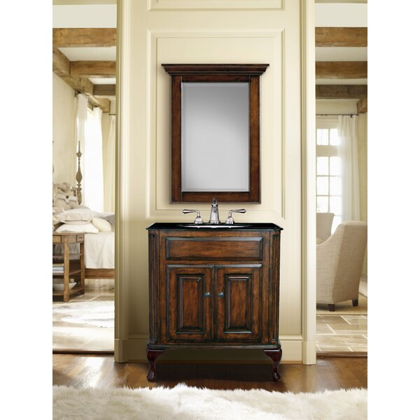 Custom 37 Single Classic/Estate Bathroom Vanity Set by Cole + Company