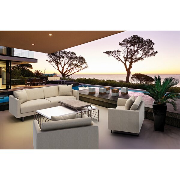 Fizz Mellini Patio Sofa by Seasonal Living