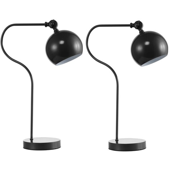 Eichler Classic Exquisite 19.5 Arched Table Lamp (Set of 2) by Ivy Bronx